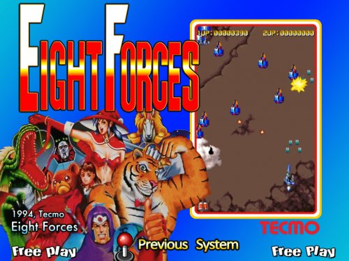 Eight Forces MAME Games P9
