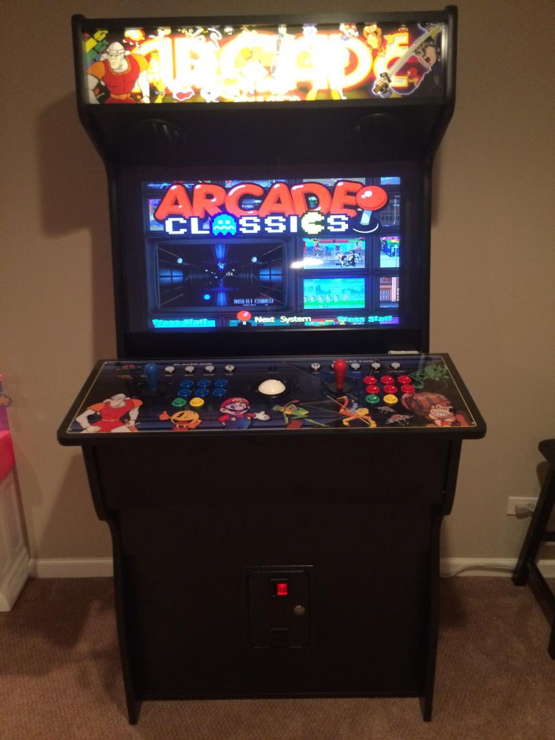 HyperSpin Cabinet 80s Arcade Cabinets And Projects