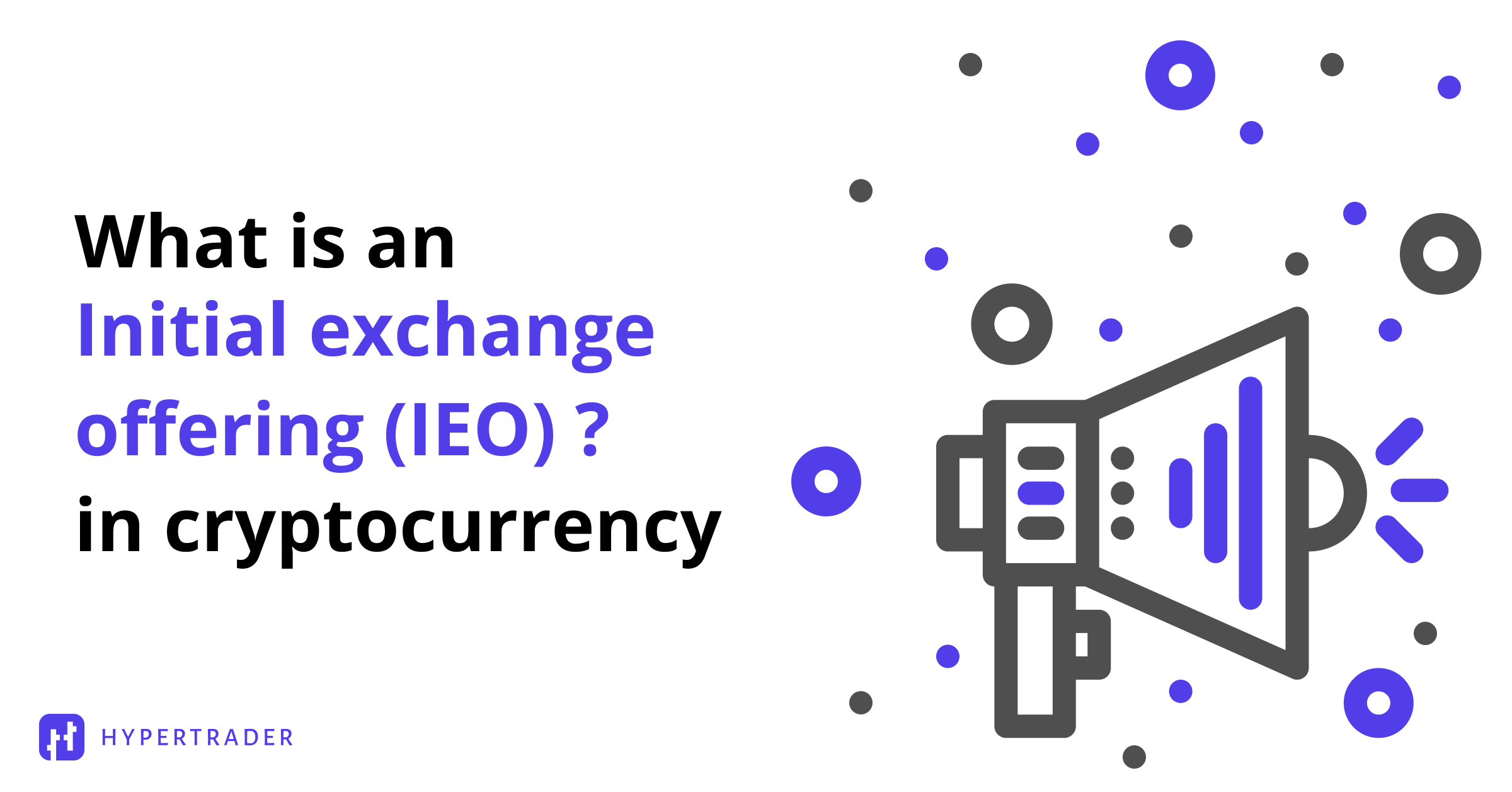 What is an IEO?