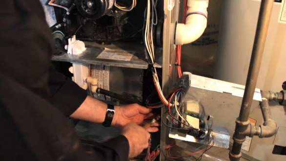 furnace blower removal