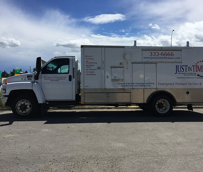Just in Time duct truck