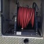 compressor hose duct truck