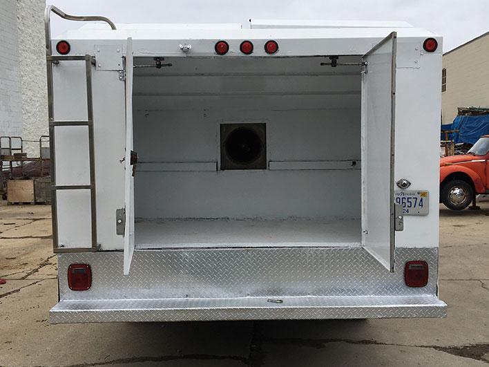 h1 duct trucks rear doors open
