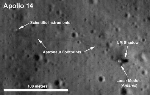 supostos objetos na lua...