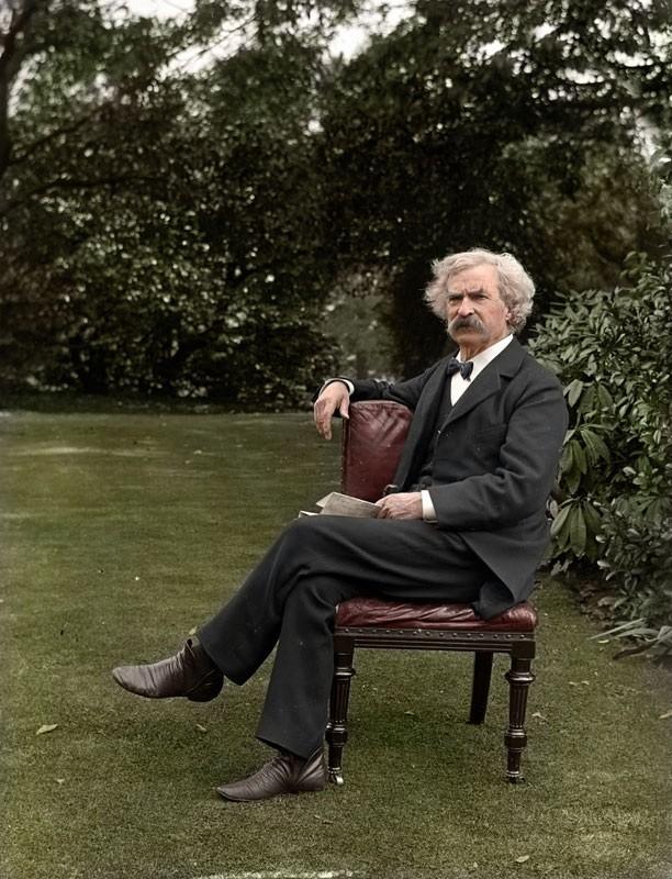 Mark Twain em 1900