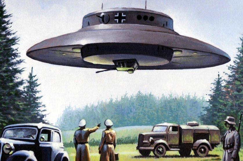 dice complotto UFO nazisti e 7