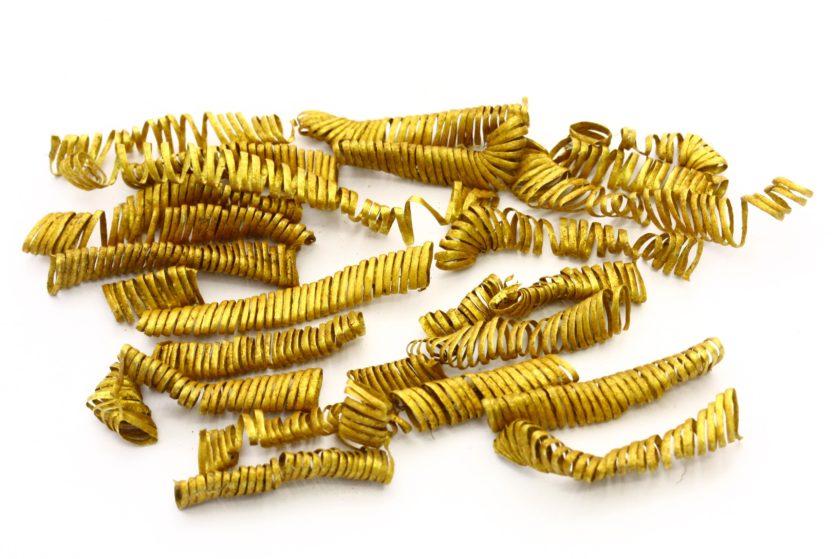 espirais de ouro dinamarca Arqueologia
