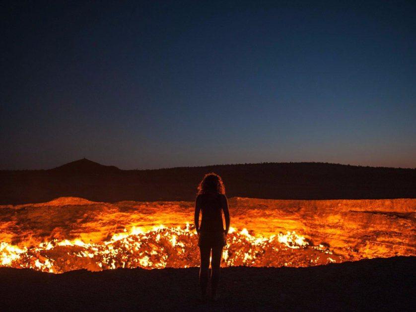 a porta do inferno