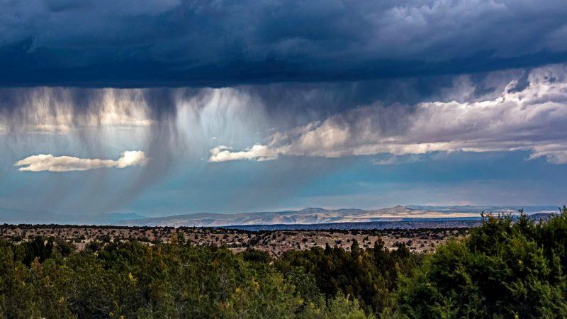 Virga sobre o Novo México. Foto: Jay Chapman