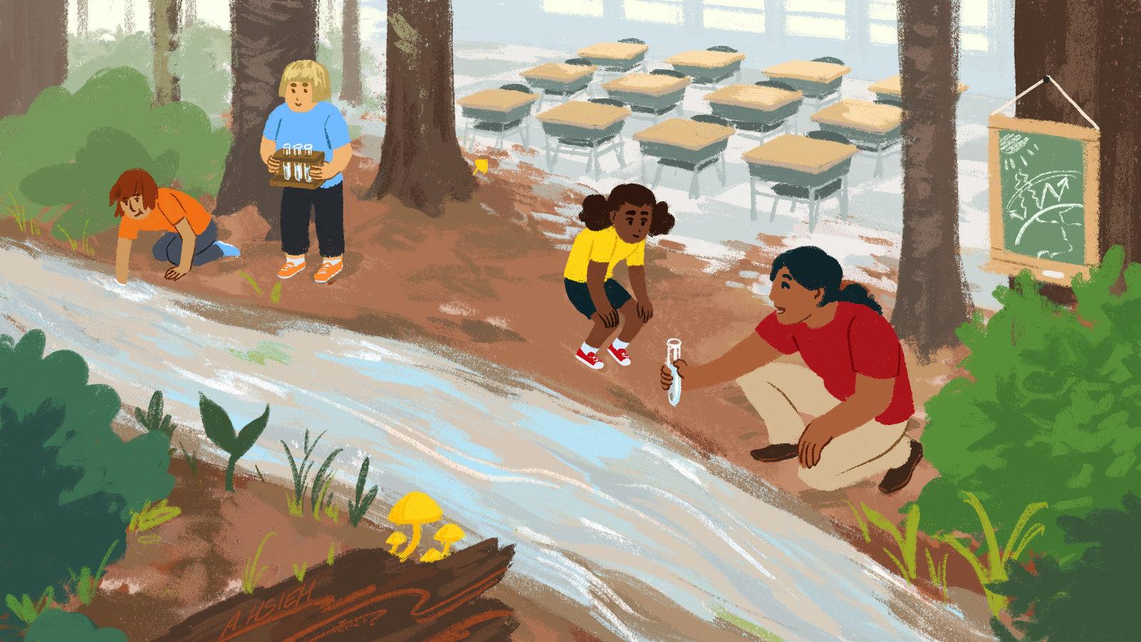 7 Maneiras De Ensinar Sobre A Mudanca Climatica