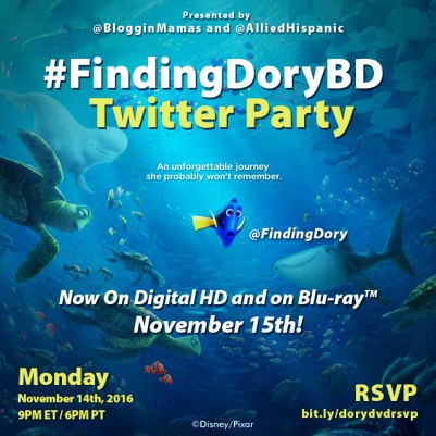 Finding Dory Twitter Party