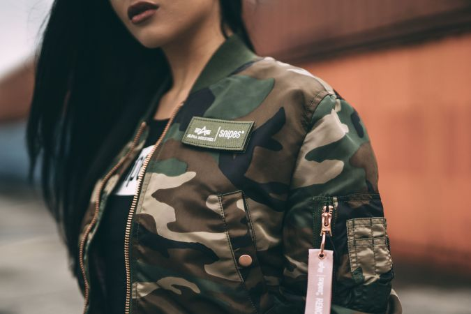 Snipes x Alpha Industries Collabo