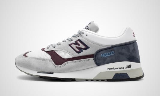 M1500NBR - Made in England (hellgrau / dunkelblau) Sneaker