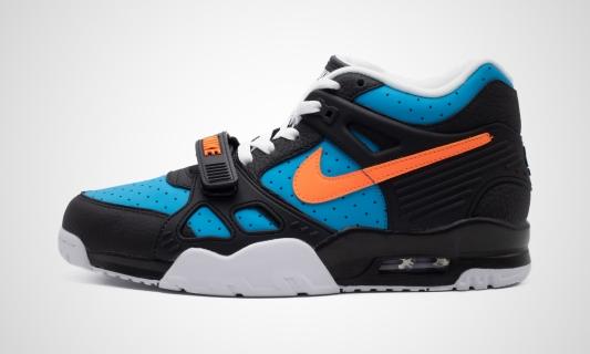 Air Trainer 3 (schwarz / blau) Sneaker