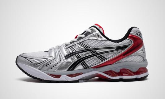 Gel-Kayano 14 (weiß / rot) Sneaker