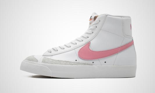 WMNS Blazer Mid '77 (weiß / rosa) Sneaker