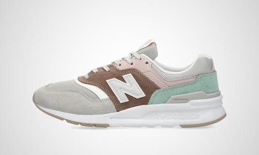 CW997HVD (grau / braun / grün) Sneaker
