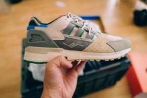 43einhalb adidas ZX 1000 Joint Path Club Sneaker Unboxing