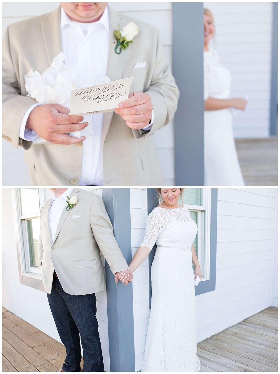 Jamie & John Harris Wedding at Oak Island, NC