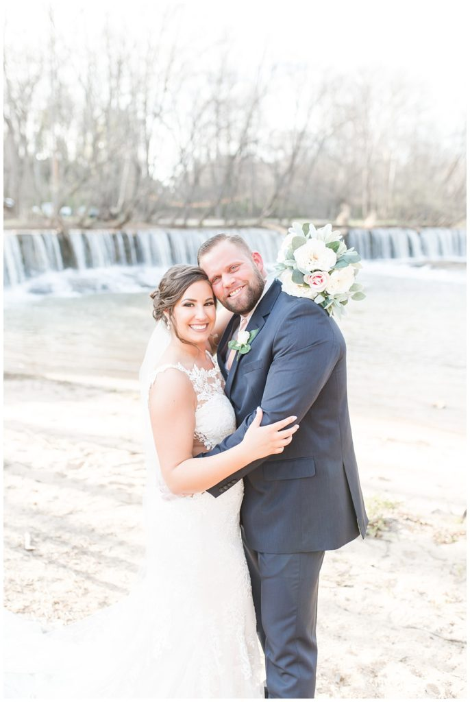 st. patrick's day wedding bliss at the laboratory mill