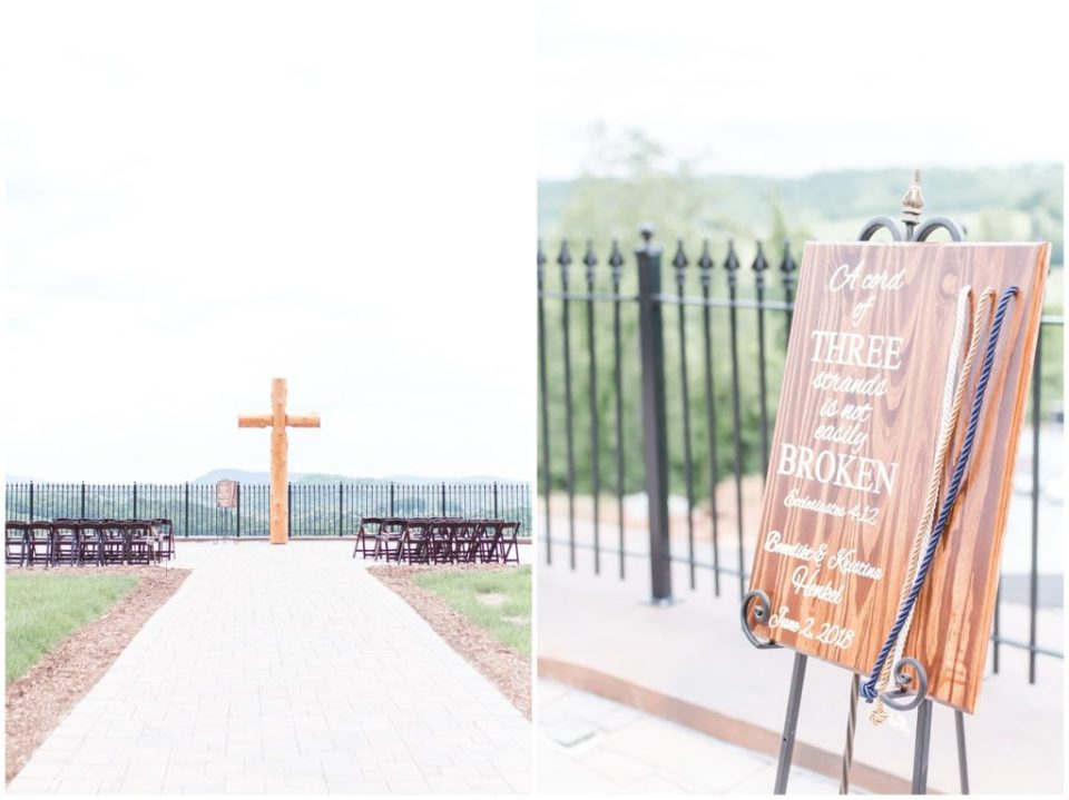 vineyard black tie wedding in mountains of North Carolina