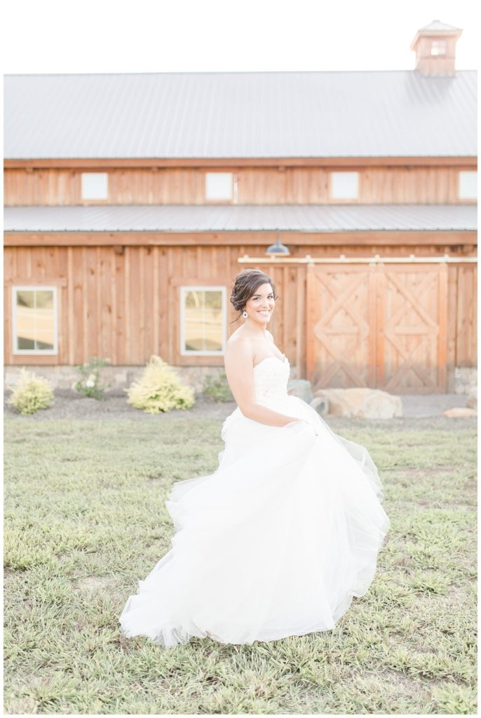 golden bridal session at the farmstead in concord nc