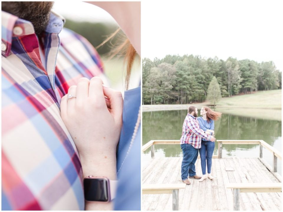 countryside engagement session in taylorsville nc by HYPimages