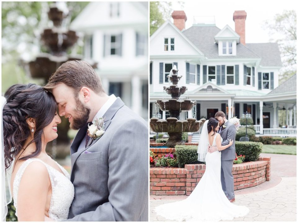 charlotte wedding planner helped brawley estate wedding