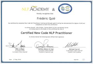 Praticien PNL New Code