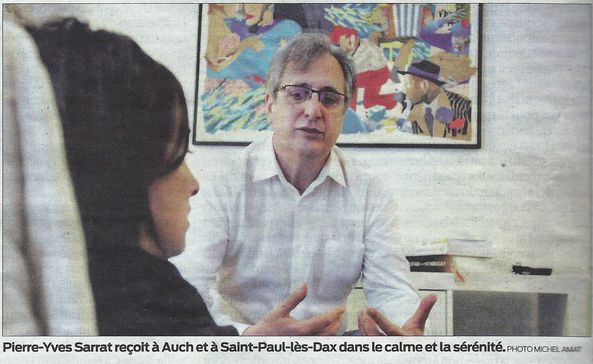 Photo de l'article de sud-ouest du 14 avril 2014
