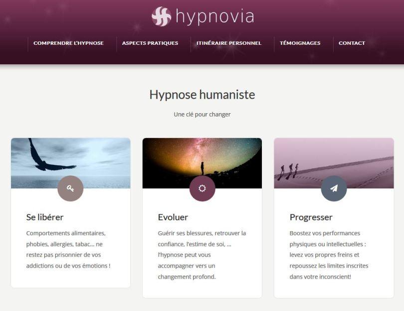 hypnovia - site de Pierre Castadère