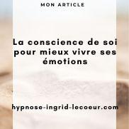 La conscience de soi pour mieux vivre ses émotions