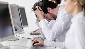 stress au travail homme