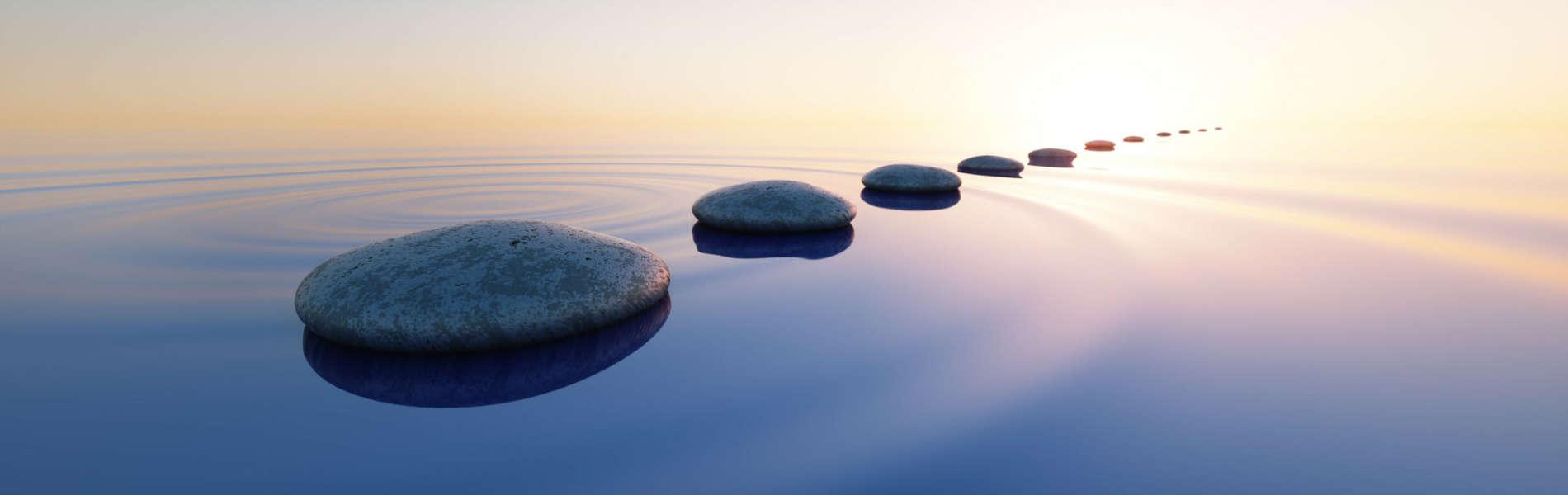 Steine im See - Hypnose Feldafing - Hypnosetherapie Feldafing - Hypnosetherapie Starnberg