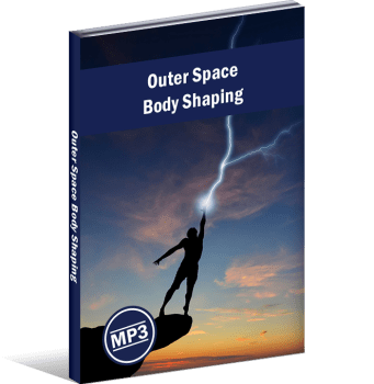 outer space body shape hypnosis session