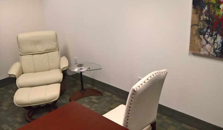 Seating for induction and therapy.