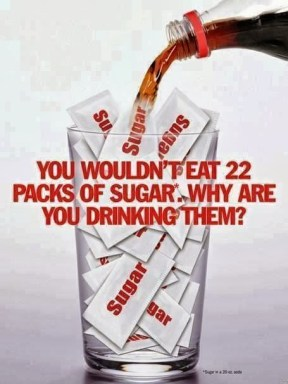 Sugar and sugary drinks are prime reasons for being overweight