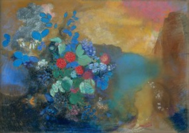 Ophelia_Among_the_Flowers_1905-1908_Odilon_Redon