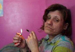 crack-smoker