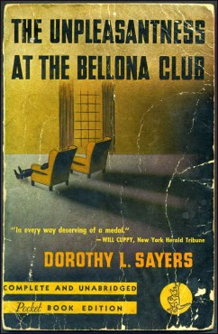 Unpleasantness at the Bellona Club1