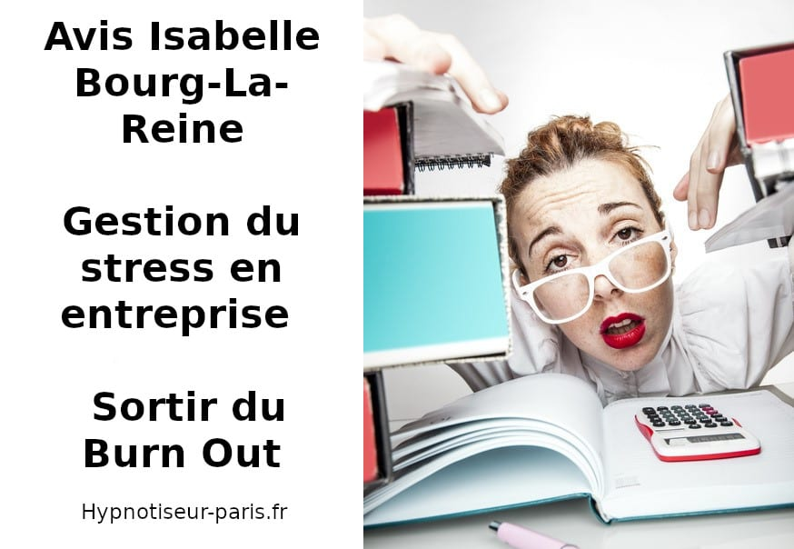 Avis : Hypnose et gestion du stress : Burn Out