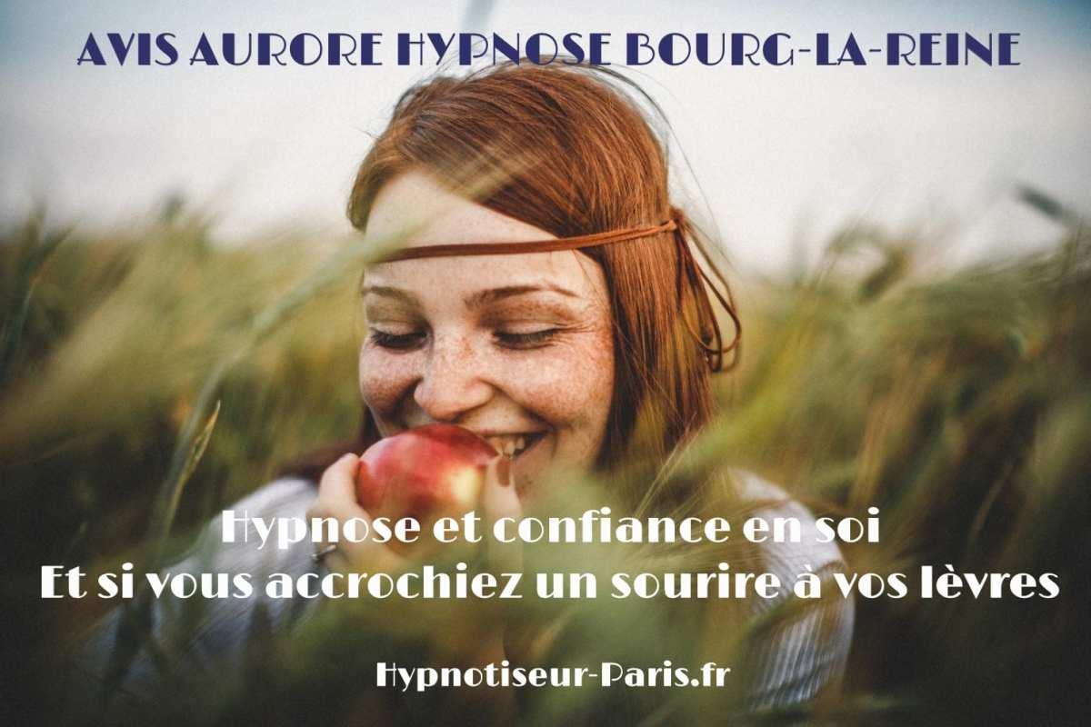 AVIS AURORE BOURG-LA-REINE : HYPNOSE, CONFIANCE ET SOURIRE AUX LÈVRES