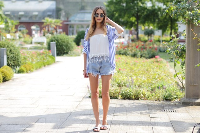 Jeans Shorts Outfit Blog 10