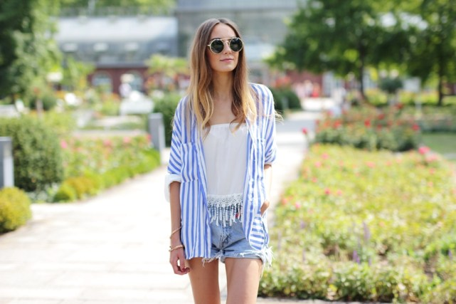Jeans Shorts Outfit Blog 12