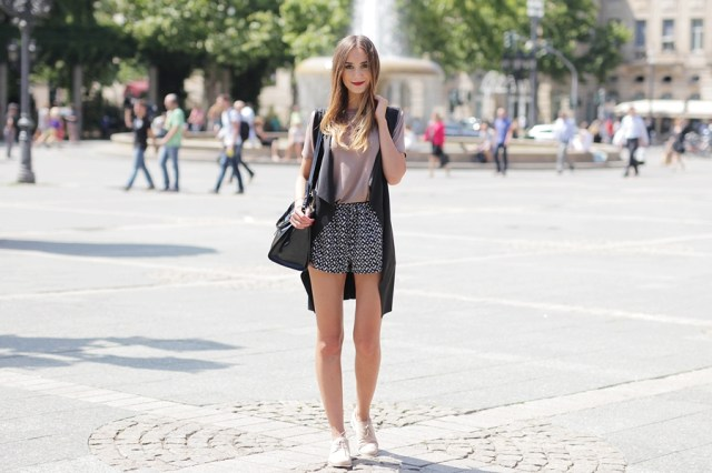 Wasserfallweste Outfit Blog 6
