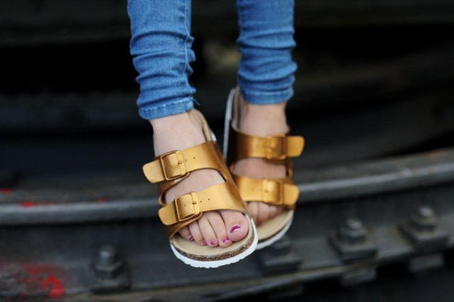 Birkenstocks DIY outfit blog