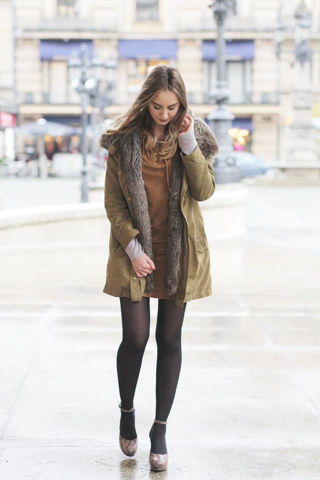 Modeblog-German-Fashion-Blog-Outfit-Parka-High-Heels-2