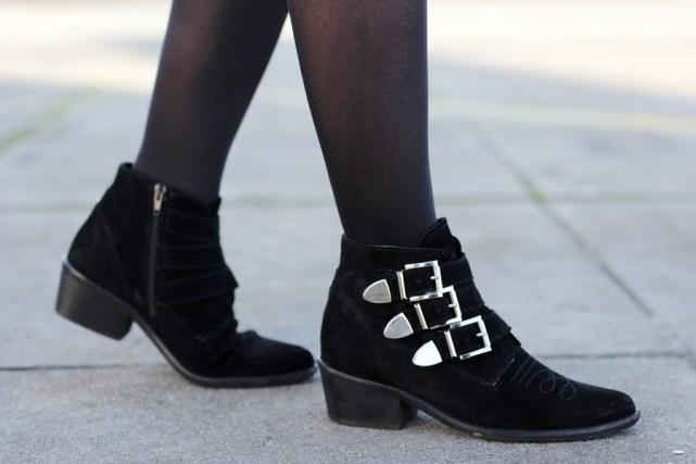 Boots mit Schnallen - Cowboy Boots