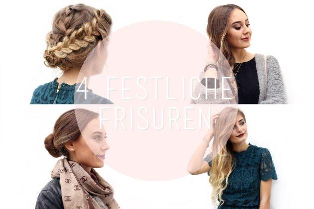 Auf dem deutschen Beautyblog geht es heute um die perfekten Frisuren für Weihnachten.