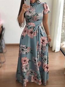 Frauen Maxikleid Modeblog Frankfurt - Fashionblog Deutschland Abendkleid für Abiballl